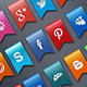 Social Network Ribbons - GraphicRiver Item for Sale