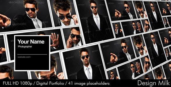 VideoHive Digital Portfolio 2712002