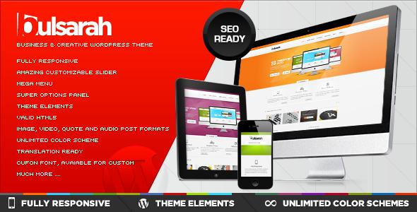 Bulsarah v2.2 – ThemeForest Business & Creative wordpress theme, Powerful SEO