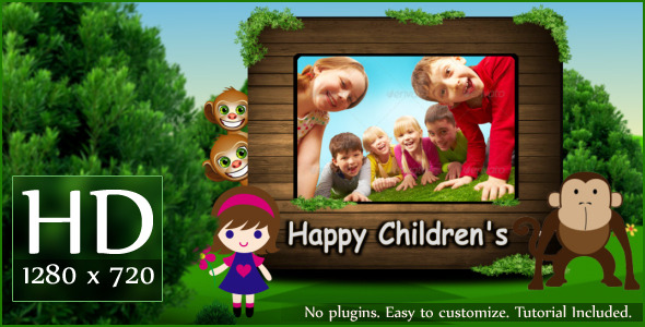 After Effects Project - VideoHive Happy Children's 2712348