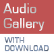 Audio Gallery Player with Download & Spectrum - ActiveDen Item for Sale