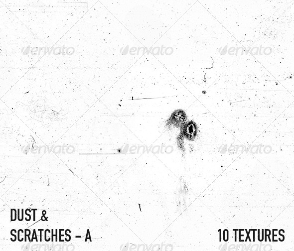 Dust & Scratch Textures - A - 3DOcean Item for Sale