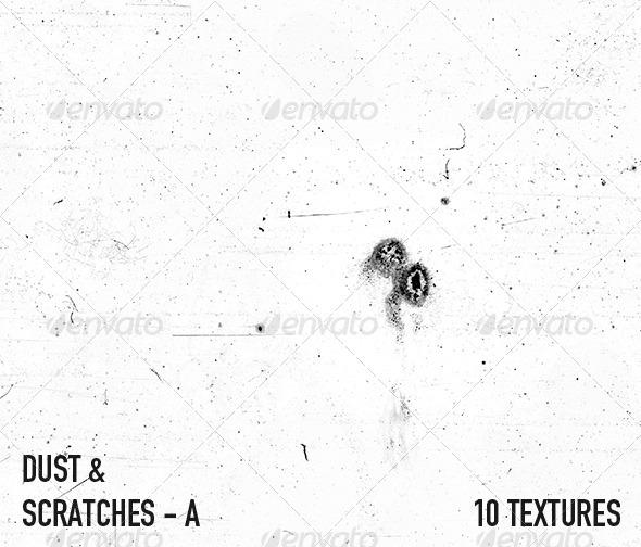 3DOcean Dust & Scratch Textures A 2708555