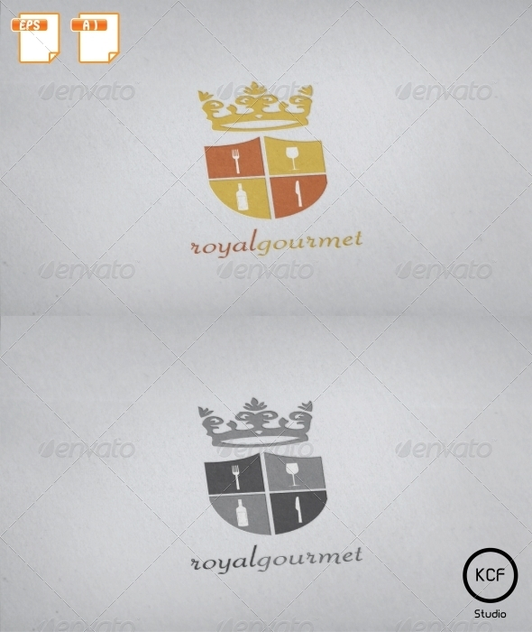 GraphicRiver Royal Gourmet Logo Design 2708836