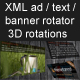XML Banner Rotator with Unlimited 3D Rotations - ActiveDen Item for Sale