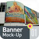 Banner | Poster Mock-Up - GraphicRiver Item for Sale