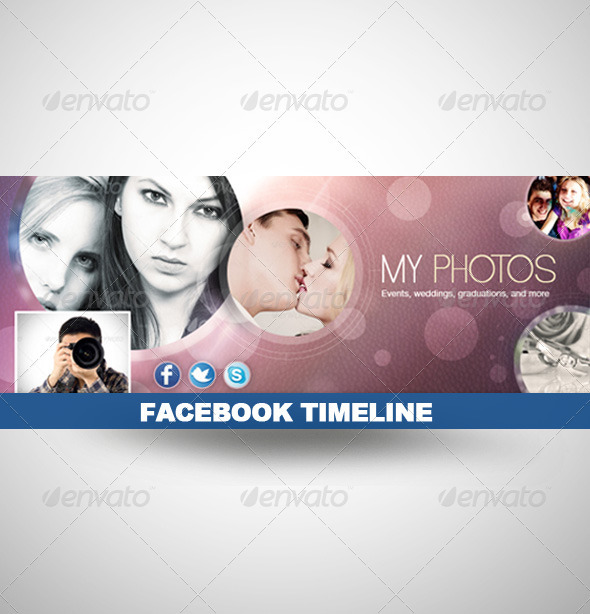 GraphicRiver Facebook Timeline Cover for Photographers 2715177
