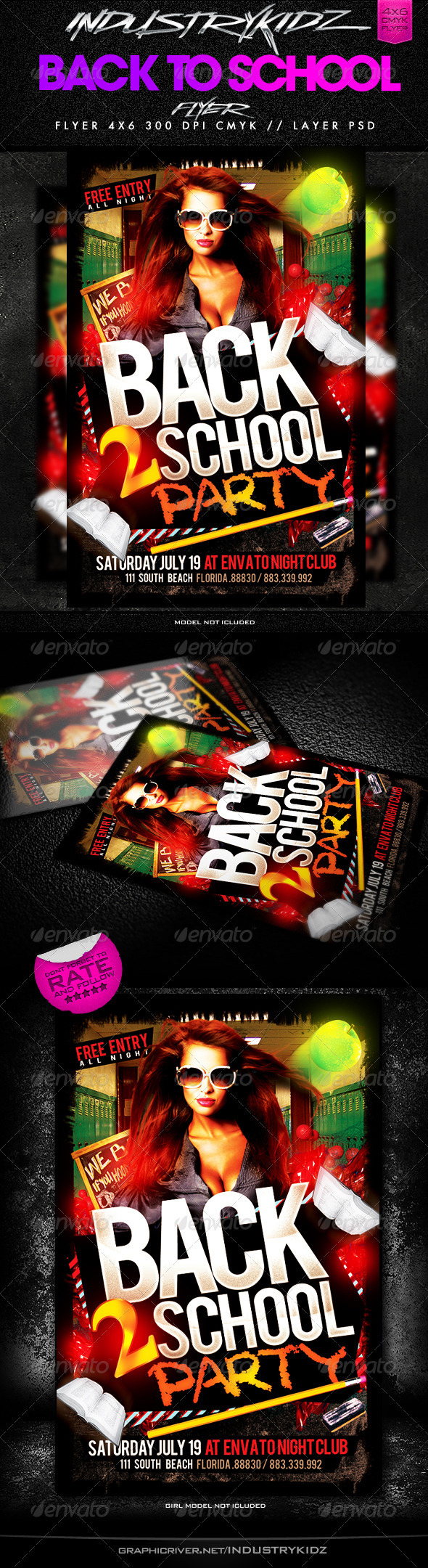 Apple Flyer Templates From Graphicriver