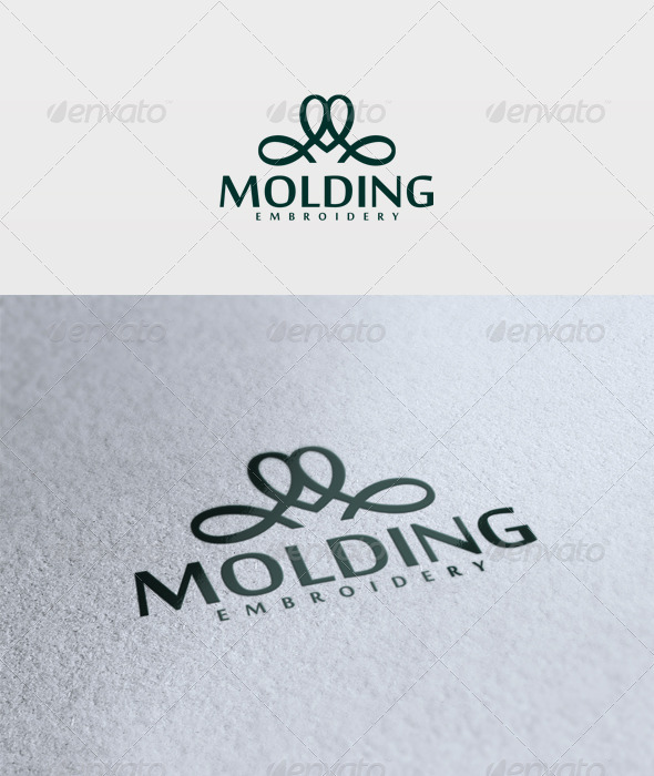Molding Logo - Vector Abstract