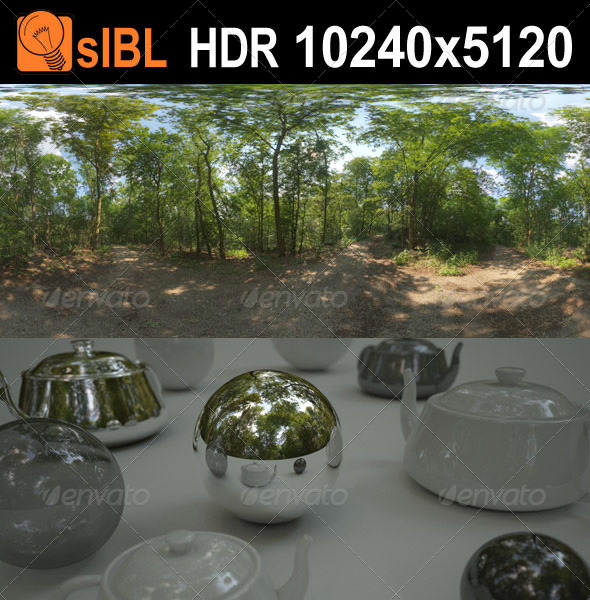 HDR 114 Forest sIBL - 3DOcean Item for Sale