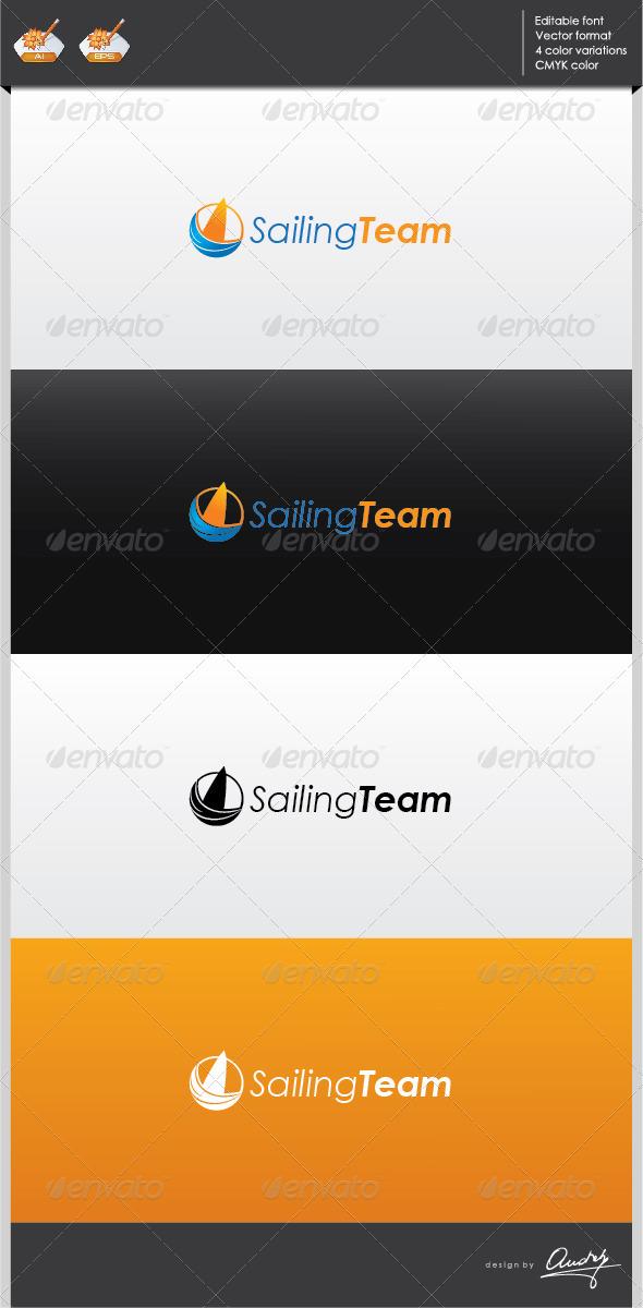 GraphicRiver Sailing Team Logo Template 2702293