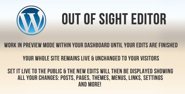 Out Of Sight Editor - CodeCanyon Item for Sale