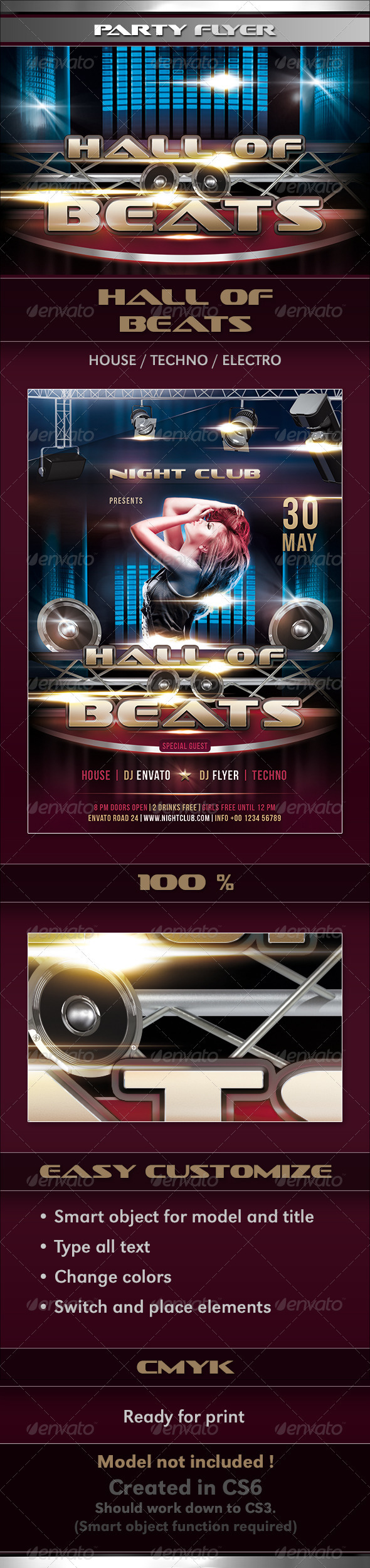 GraphicRiver Hall of Beats 2718072