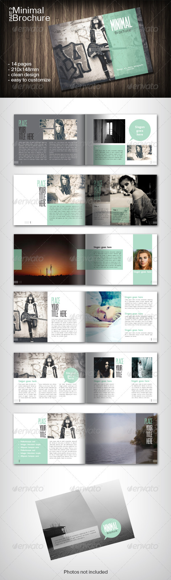 GraphicRiver Minimal Brochure Part 2 2718085