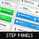 Step Process Panels Mega Set – Over 100 Variations - GraphicRiver Item for Sale