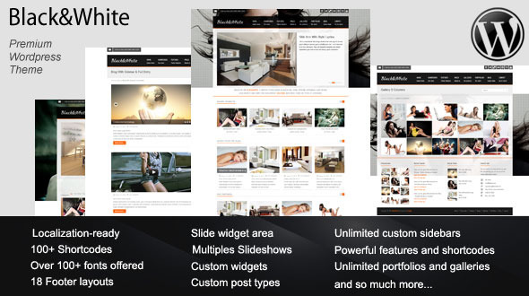Black and White - Tema de WordPress para Desarrolladores