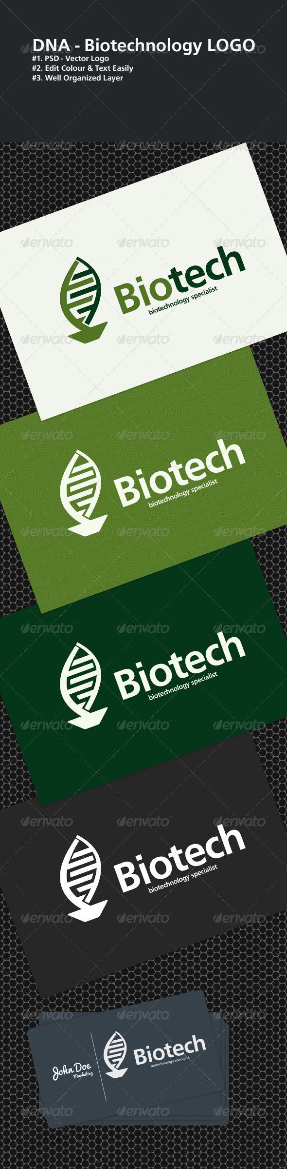 Biotech logo - Objects Logo Templates
