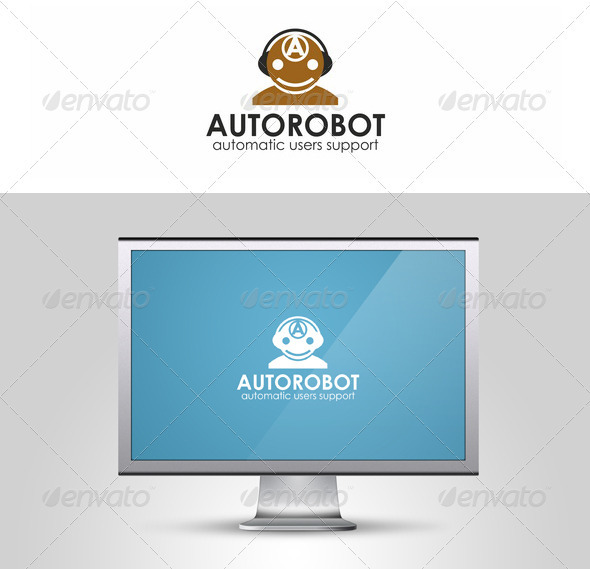 Auto Robot Logo Template - Humans Logo Templates