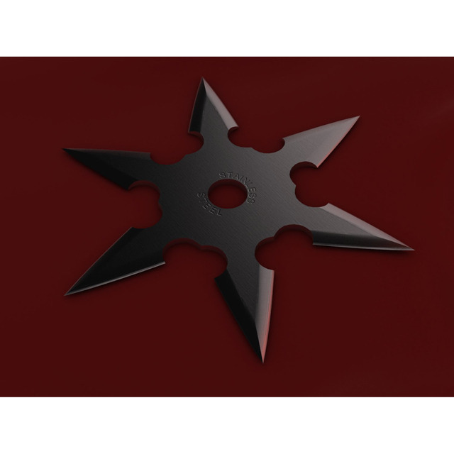 6 Point Shuriken - 3DOcean Item for Sale