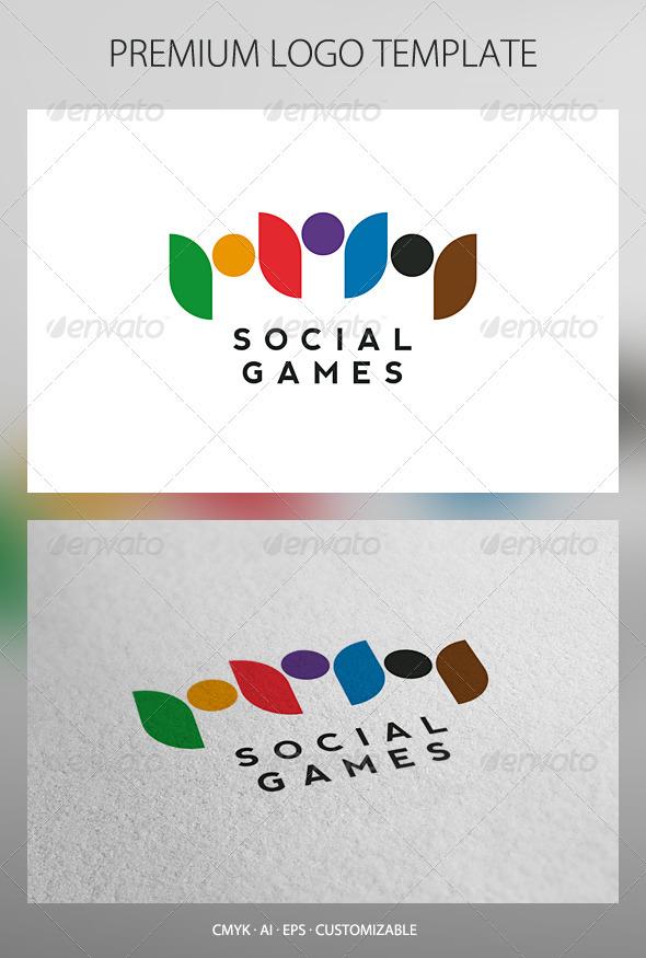 GraphicRiver Social Games Logo Template 2721758