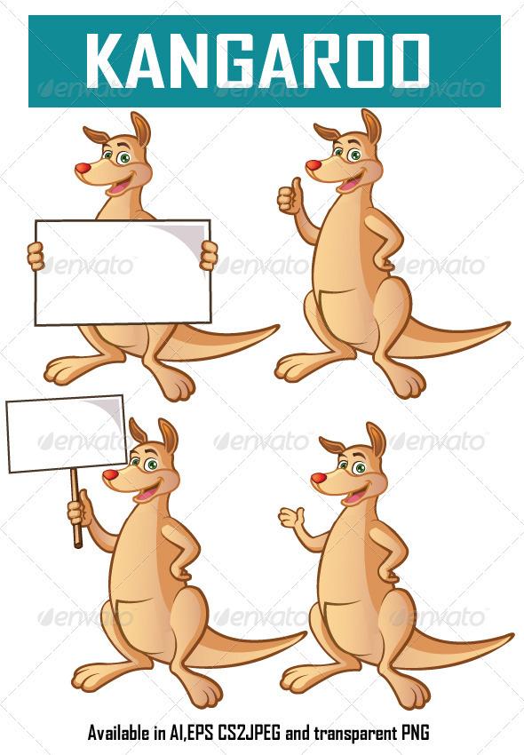 Kangaroo - Animals Characters