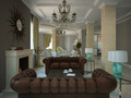 Part of the living-room in the modern country-house - PhotoDune Item for Sale