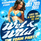 Sexy Foam Party Flyer