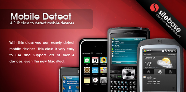 PHP Mobile phone detection