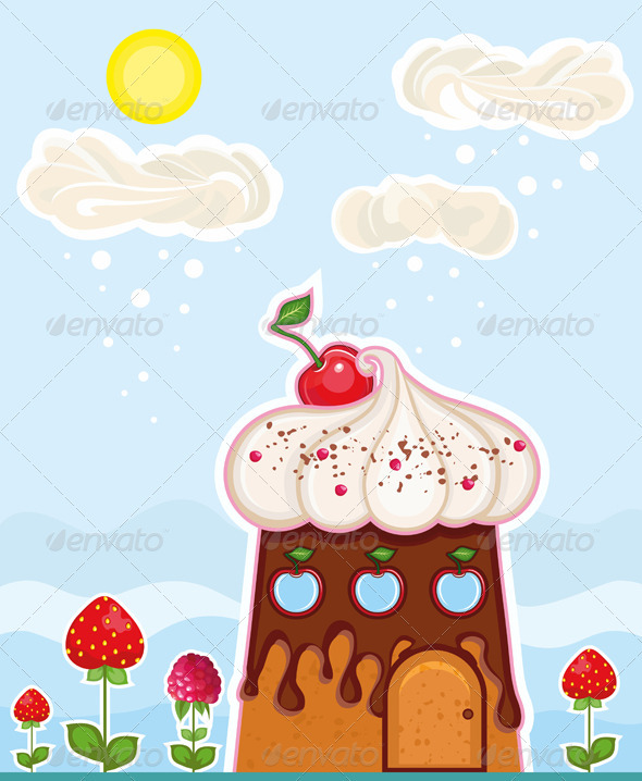 GraphicRiver Home Sweet Cake 2724077