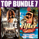Top Party Flyer Bundle Vol7
