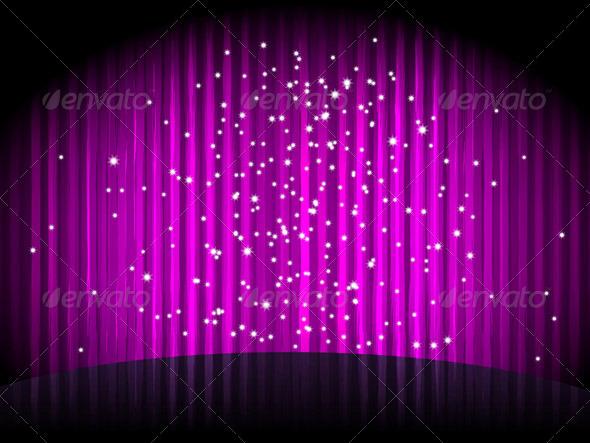 Vector Purple Background