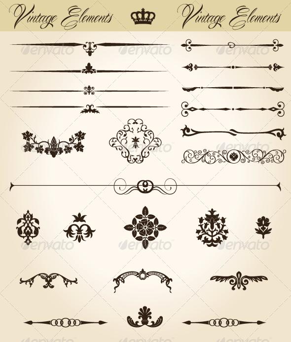 Vintage Symbol 6
