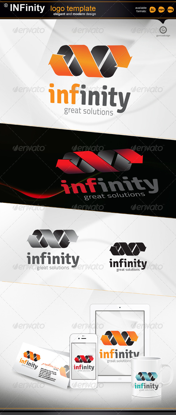 Infinity - Vector Abstract