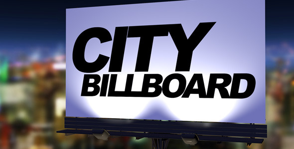 3DOcean City Billboard 2697152