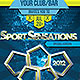 Sport Sensations Flyer template - GraphicRiver Item for Sale