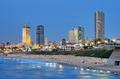 Tel Aviv Mediterranean Skyline - PhotoDune Item for Sale