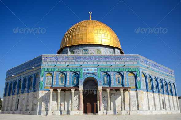 Dome of the Rock - Stock Photo - Images