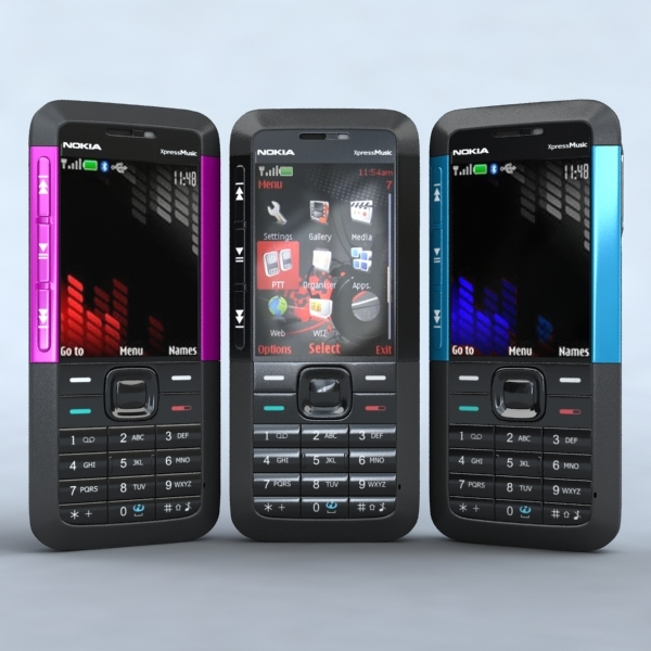 3DOcean Nokia 5310 XpressMusic 2727772