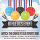 Athletics Sports Flyer - GraphicRiver Item for Sale