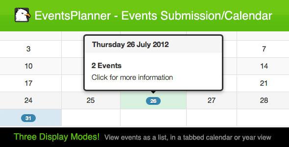 CodeCanyon EventsPlanner 2728343