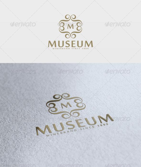 Museum Logo - Letters Logo Templates