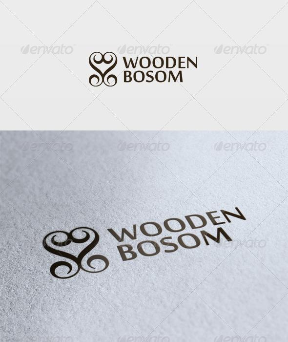 Wooden Bosom Logo