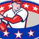 Download Vector American Baseball Player Batting Cartoon