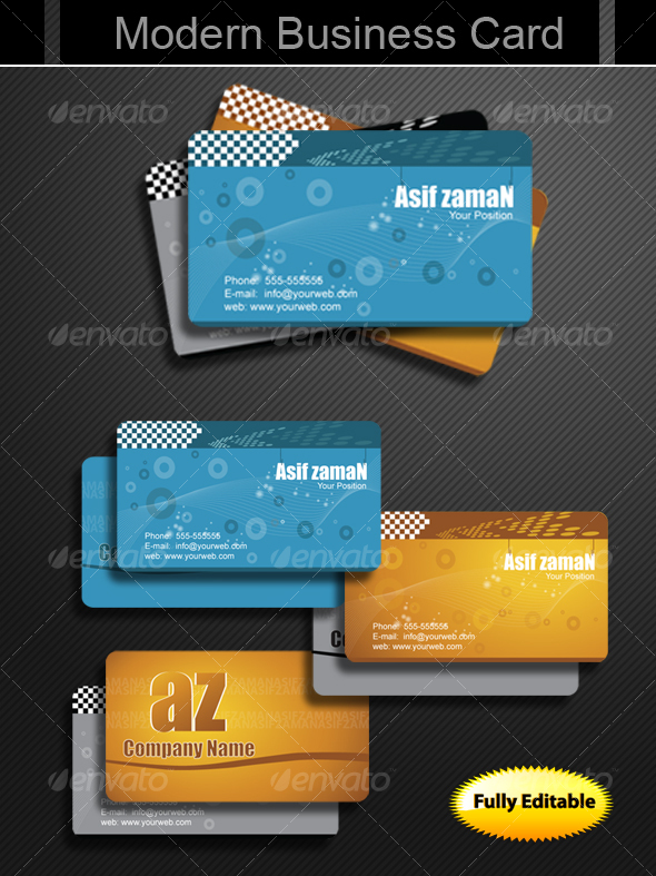 Modern Business Cards - Creative Business Cards