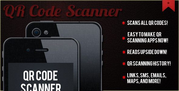 QR Code Scanner App Template  Scanner  Reader  - CodeCanyon Item for Sale
