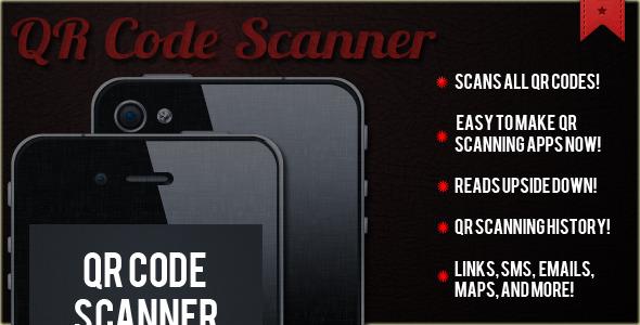 QR Code Scanner App Template ( Scanner / Reader ) - CodeCanyon Item for Sale