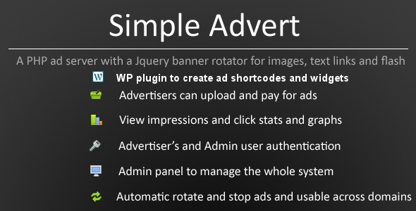 Simple Advert - CodeCanyon Item for Sale