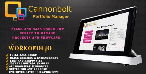CannonBolt Portfolio Manager Script