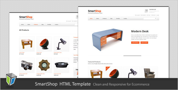 SmartShop - Responsive ECommerce HTML Template