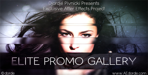 After Effects Project - VideoHive Elite Promo Gallery 2732266